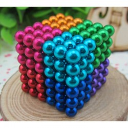 Colored Buckyballs 8 colors in 1 Magnetic Balls 216pcs