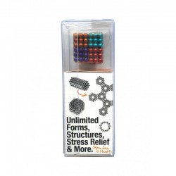 Sidekick Buckyballs 3 pack of Magnetic Balls 125pcs Nickle Black and Gold