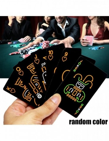 Playing Card Glow In The Dark Bar Party KTV Night Luminous Collection Special Poker
