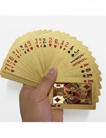 24K Gold Playing Cards Poker Game