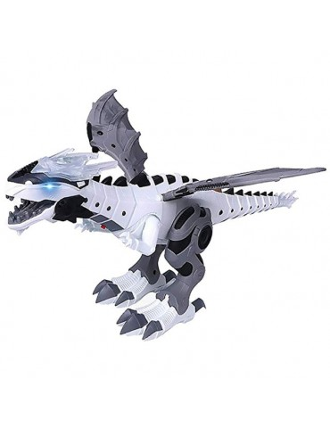 Large Walking Spray Dinosaur Robot