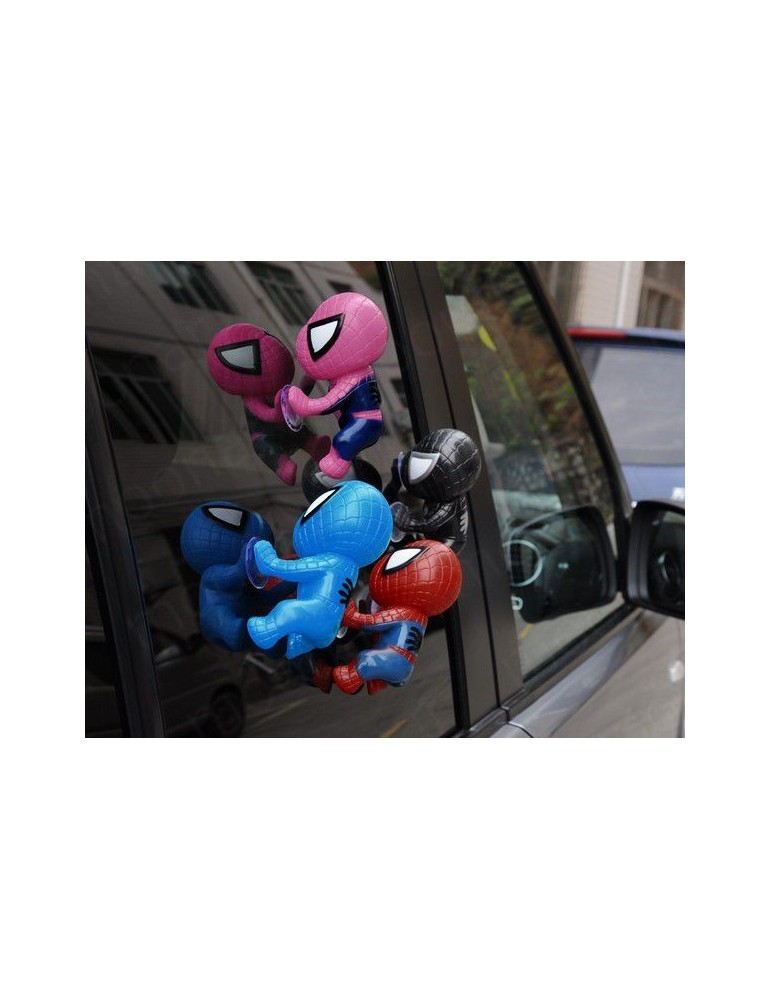 Car Decoration Climbing Sucker Spider-Man Toy Doll For Window Rearview Mirror