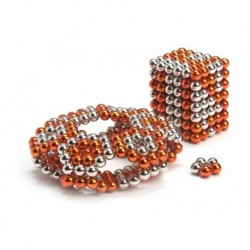 Buckyballs 2 pack of Magnetic Balls 216pcs Nickle and Orange