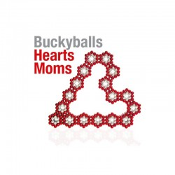 Buckyballs 2 pack of Magnetic Balls 216pcs Nickle and Blue